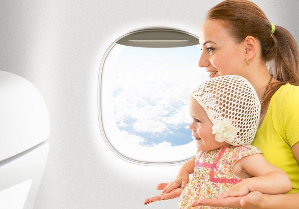 Как позаботиться о здоровье детей во время перелета?
