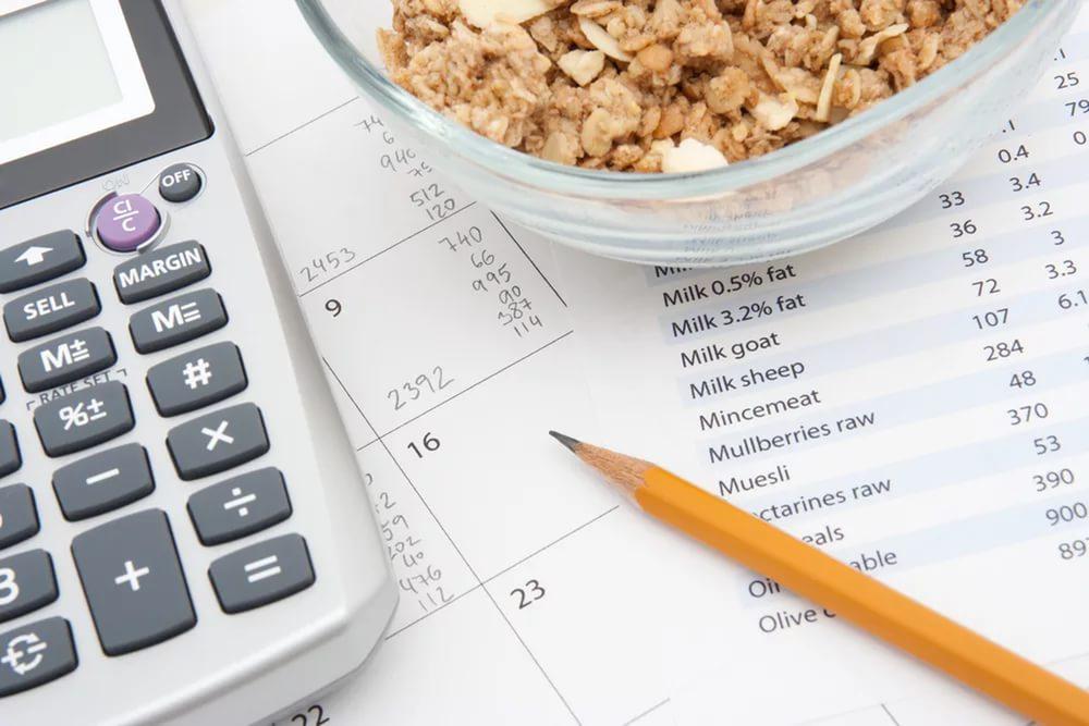 Как поддержать вес с помощью расчета калорий?