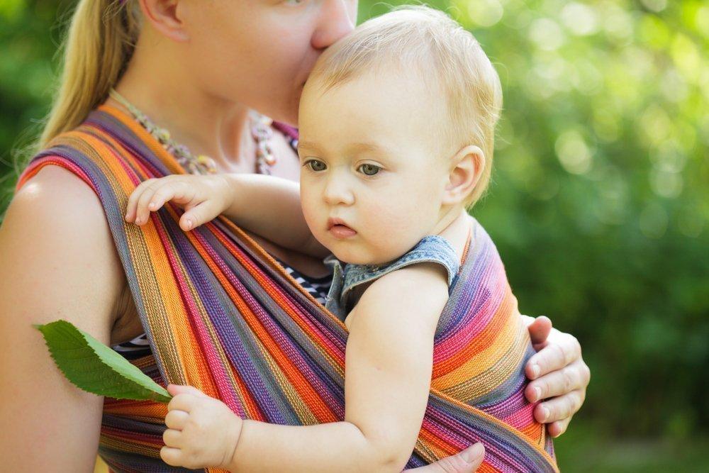 Мама и малыш — одно целое