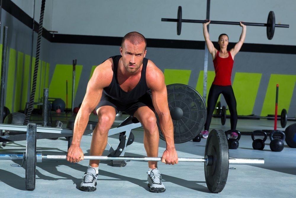 Силовые упражнения в тренировках тайбоксеров