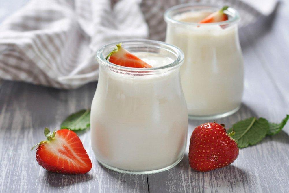 5. Натуральный йогурт