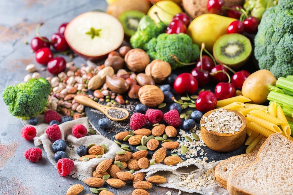 Избыток полезных продуктов в рационе для похудения