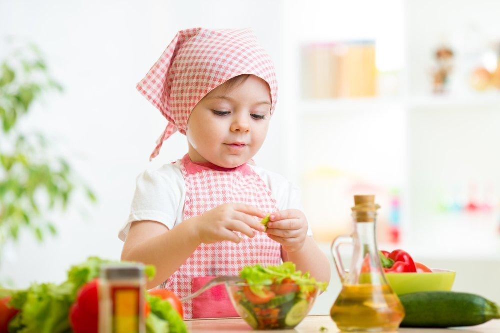 Какую пользу малышу может принести освоение кулинарного искусства?