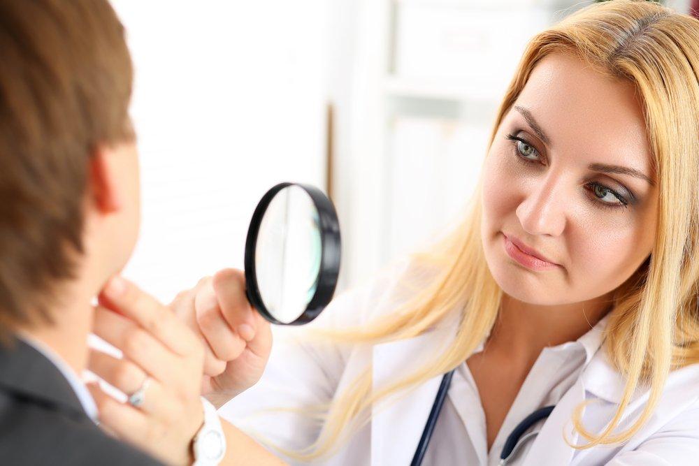 Симптомы болезни Бурневилля-Прингла