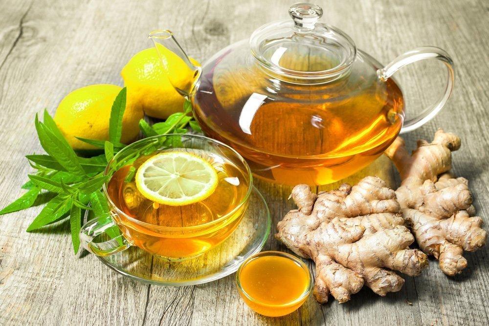 Имбирный чай для похудения и подавления аппетита