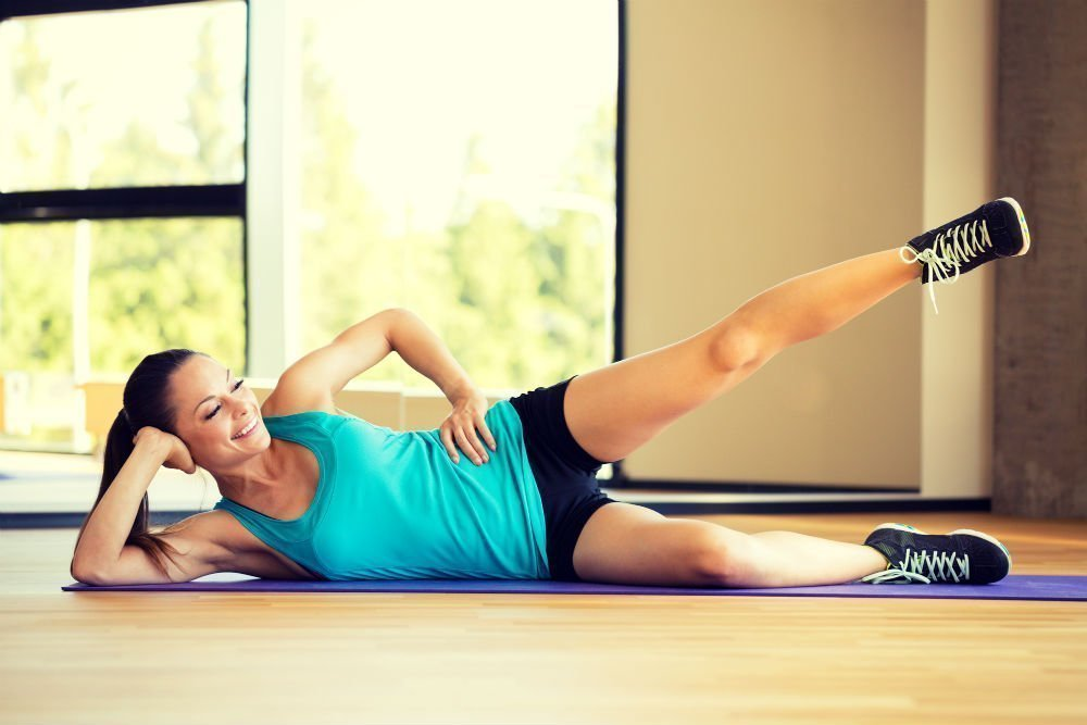 Фитнес дома: занятия для новичков ЗОЖ
