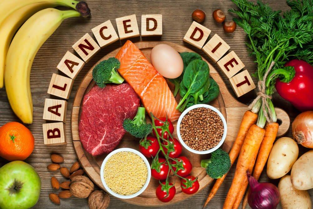 Здоровая диета на английском