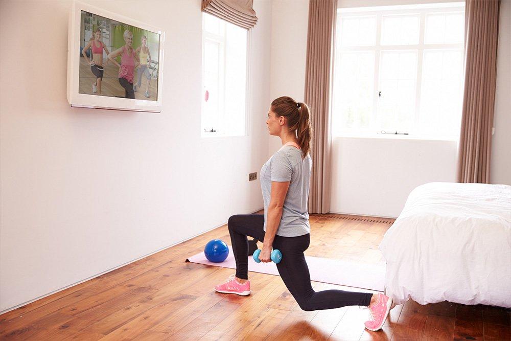 Комплекс упражнений для поддержания тонуса