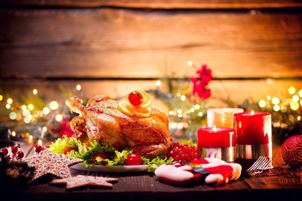 Основные продукты: мясо, птица и рыба на Новый год