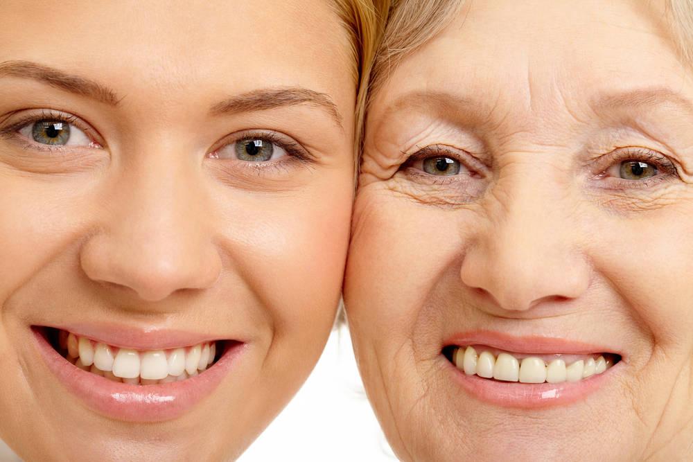 Причины увядания красоты кожи
