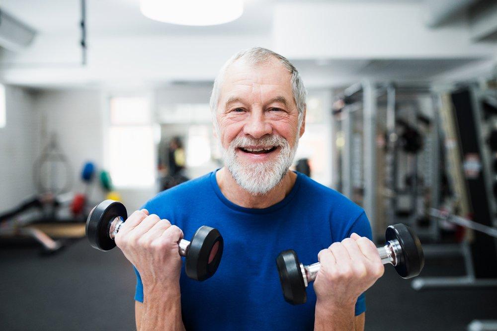 Физическая нагрузка и борьба со старением