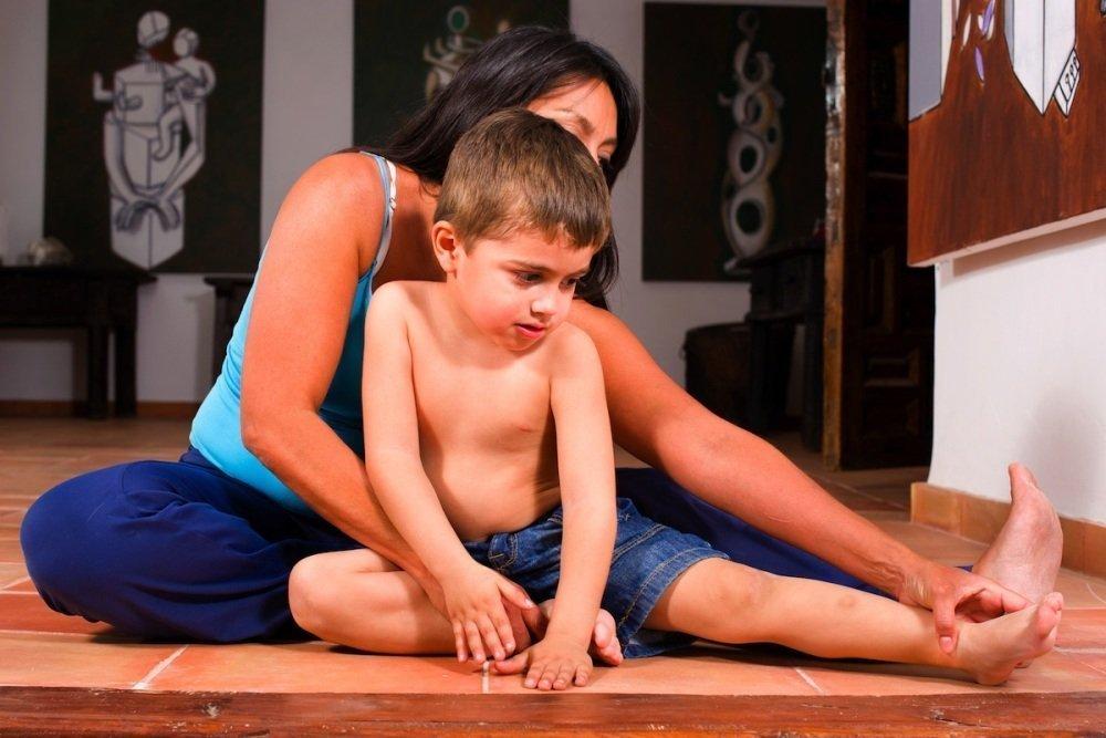 Специфика занятий йогой для детей с особыми потребностями