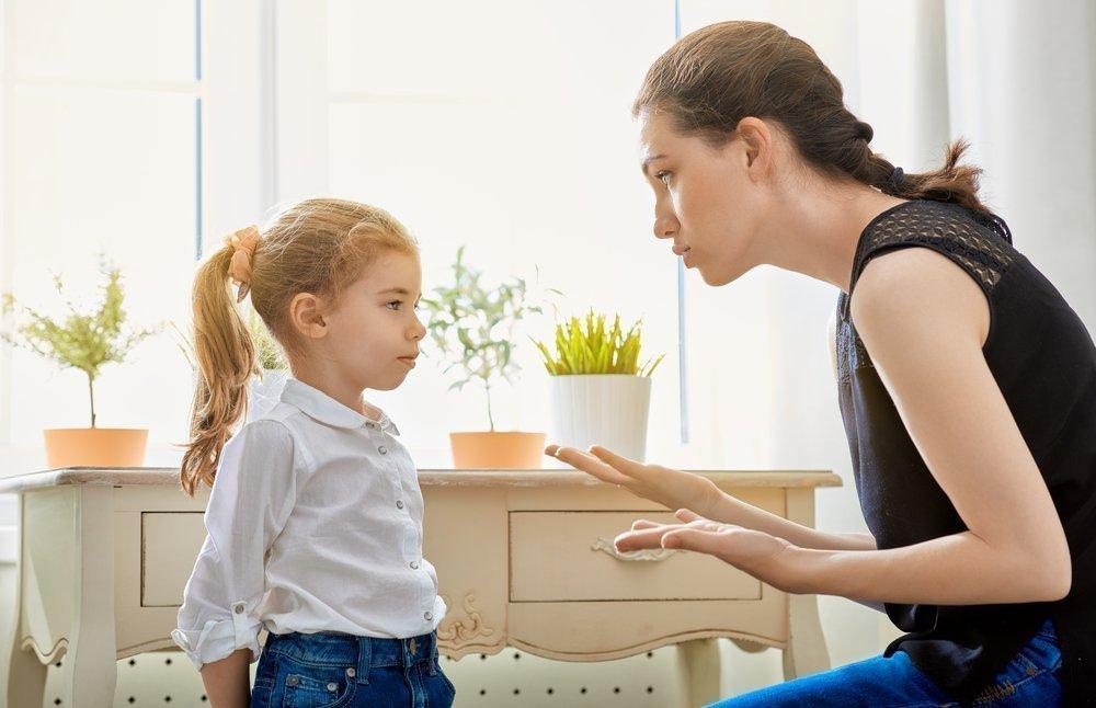 Критика касается поступков, а не самого ребенка