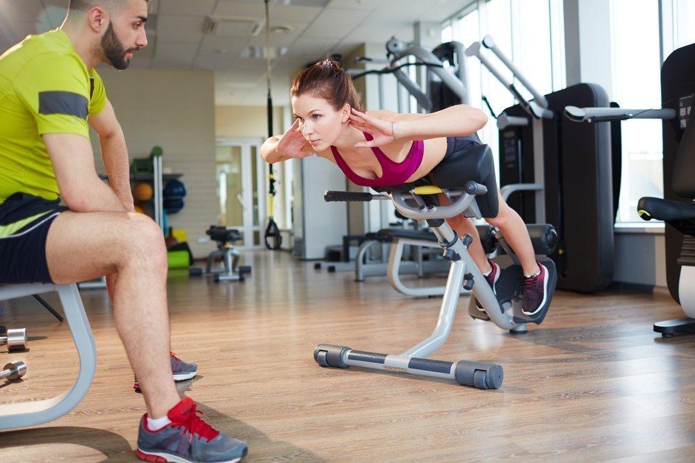 Расслабление мышц при помощи растяжки спины