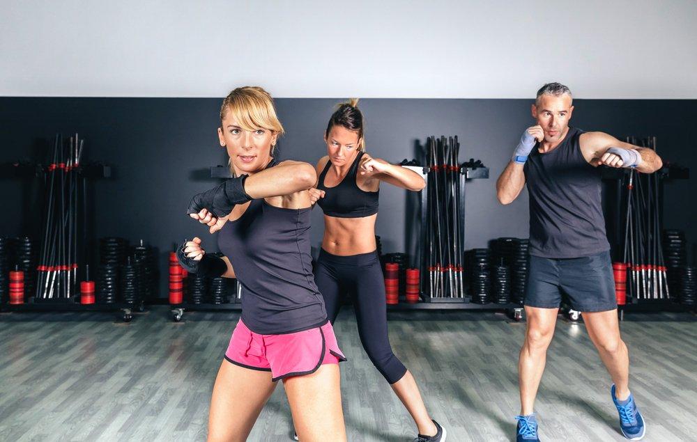 Базовые упражнения фитнес-системы тай-бо
