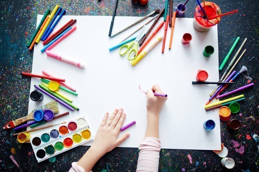 Наборы для юных художников