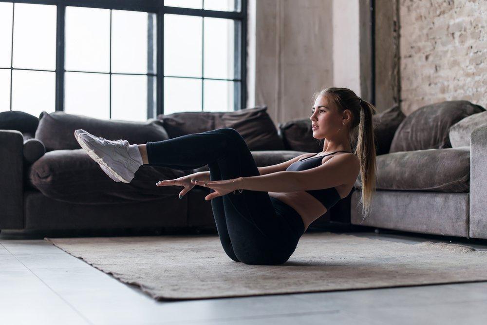 эффективные тренировки для похудения в домашних условиях