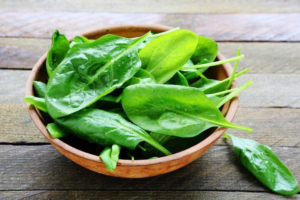 Похудение с листовым овощем
