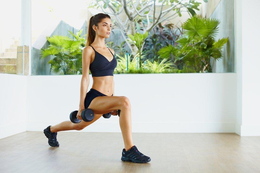 Фитнес-упражнения для «сухости» мышечной массы ног