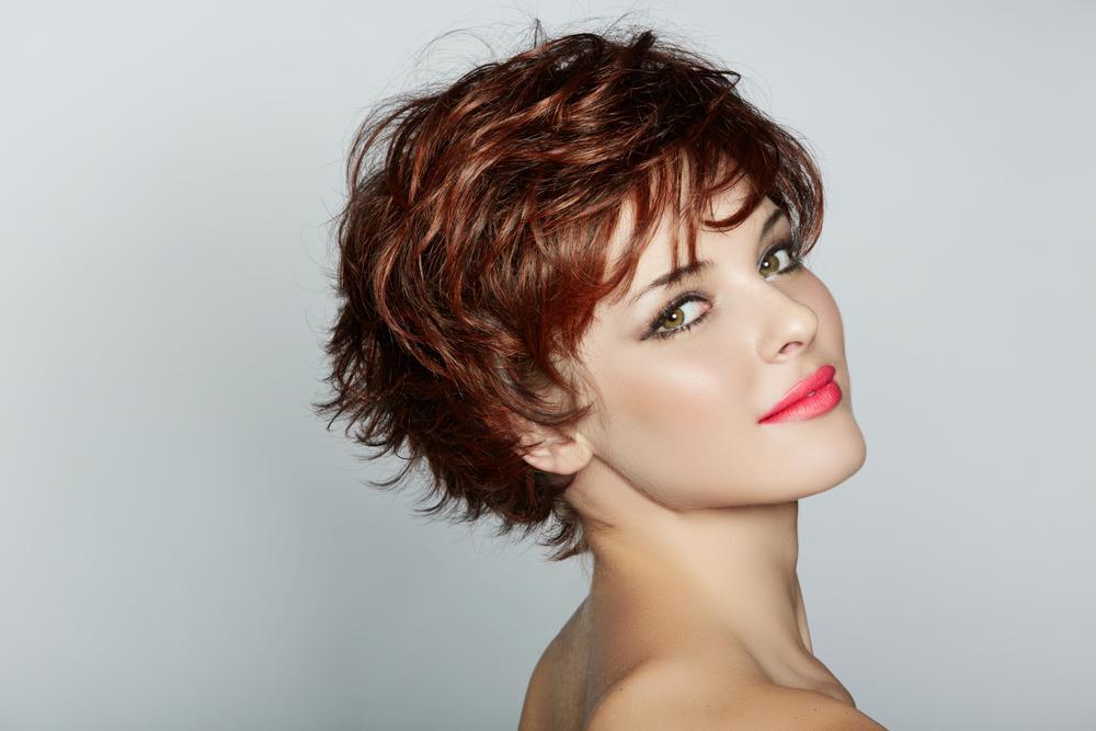 Простые укладки для коротких волос