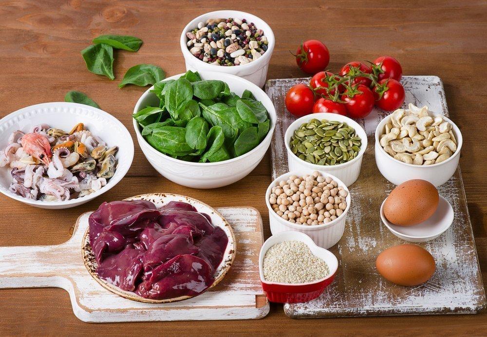 Железо и витамины в рационе