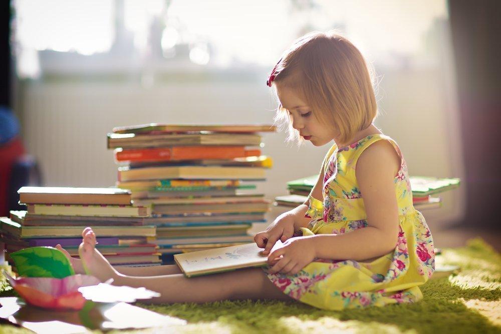 Дети любят книжки