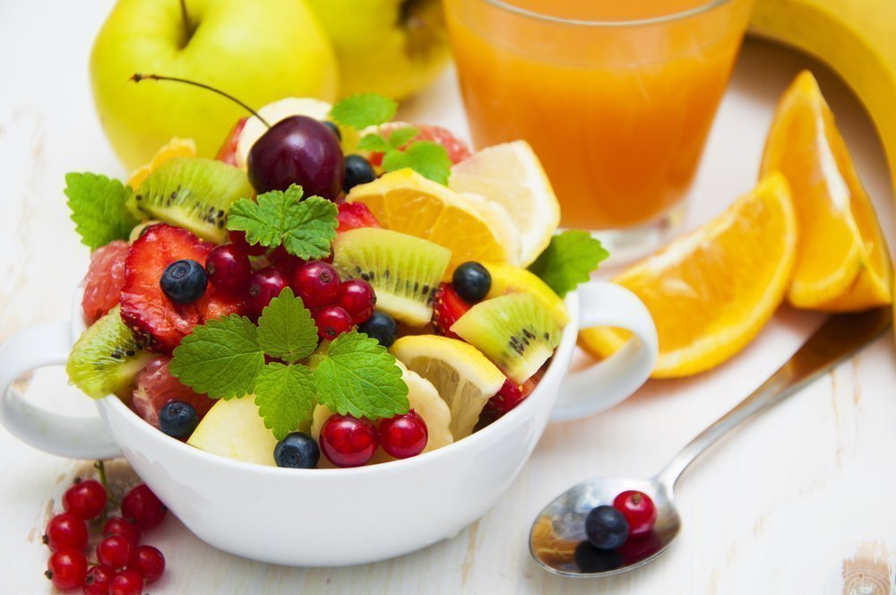 Здоровье малыша: польза фруктовых салатов в рационе питания