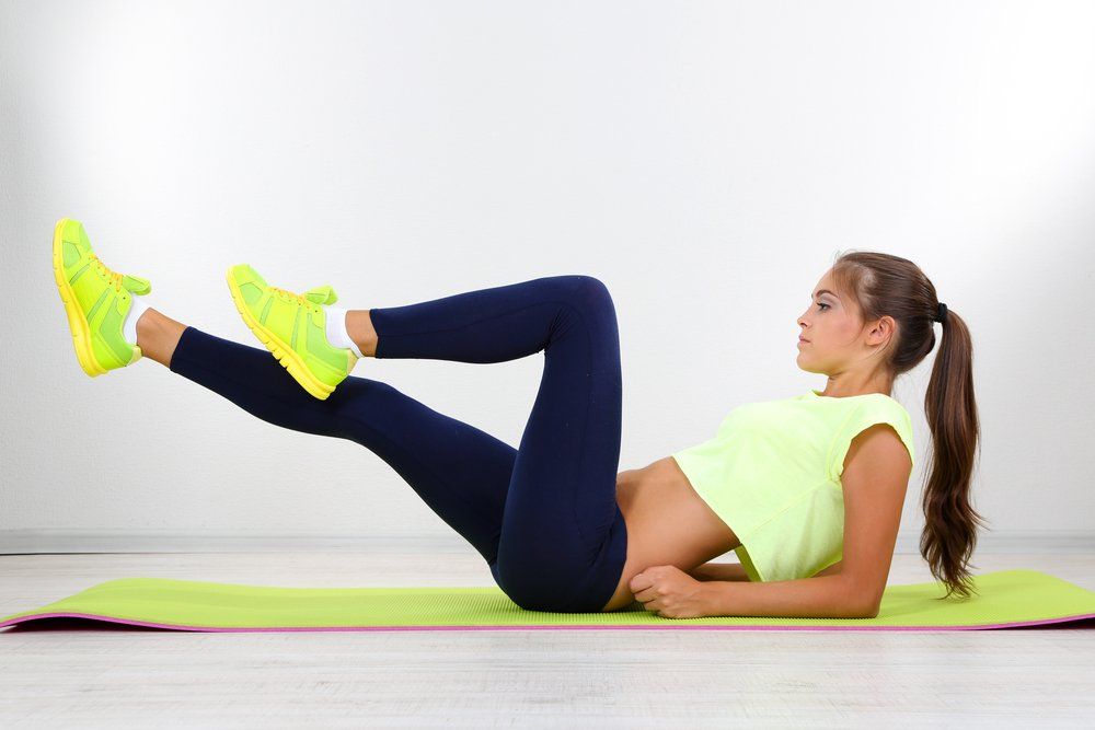 Перечень базовых фитнес-упражнений для живота