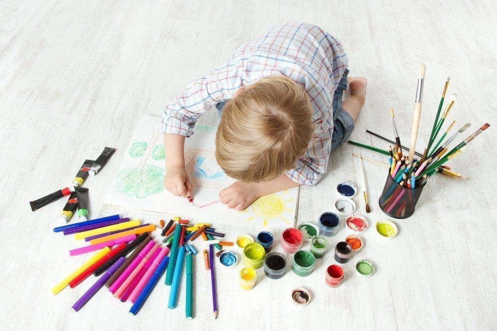 Карандаши и краски против детской истерики