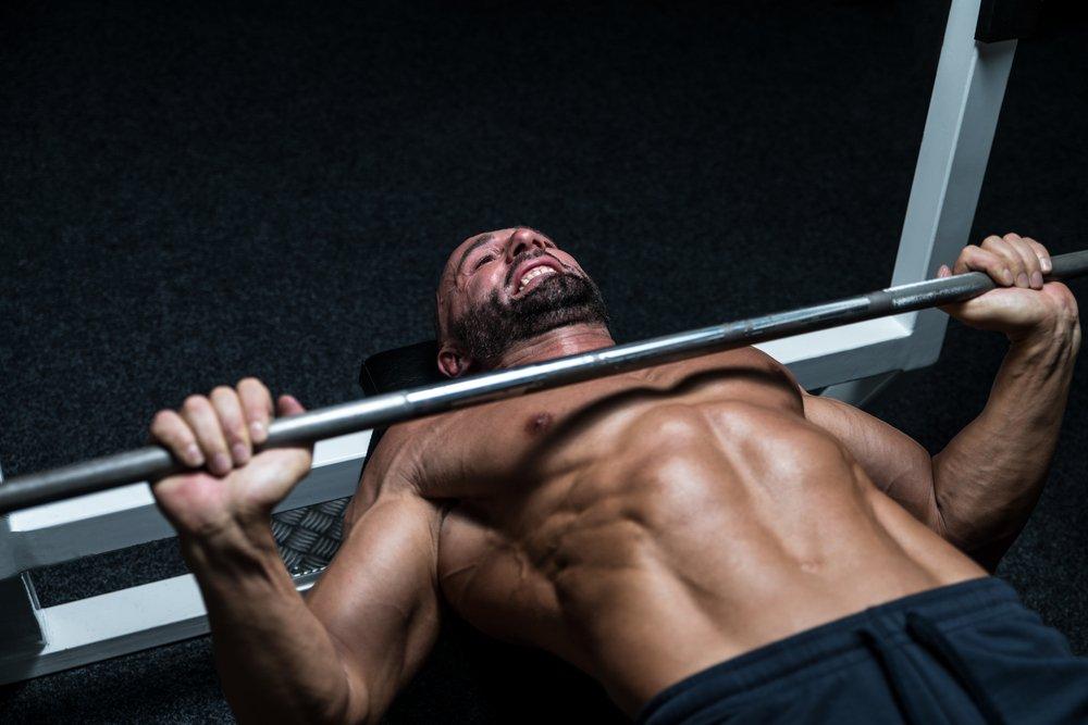 Техника выполнения упражнения для мышц груди