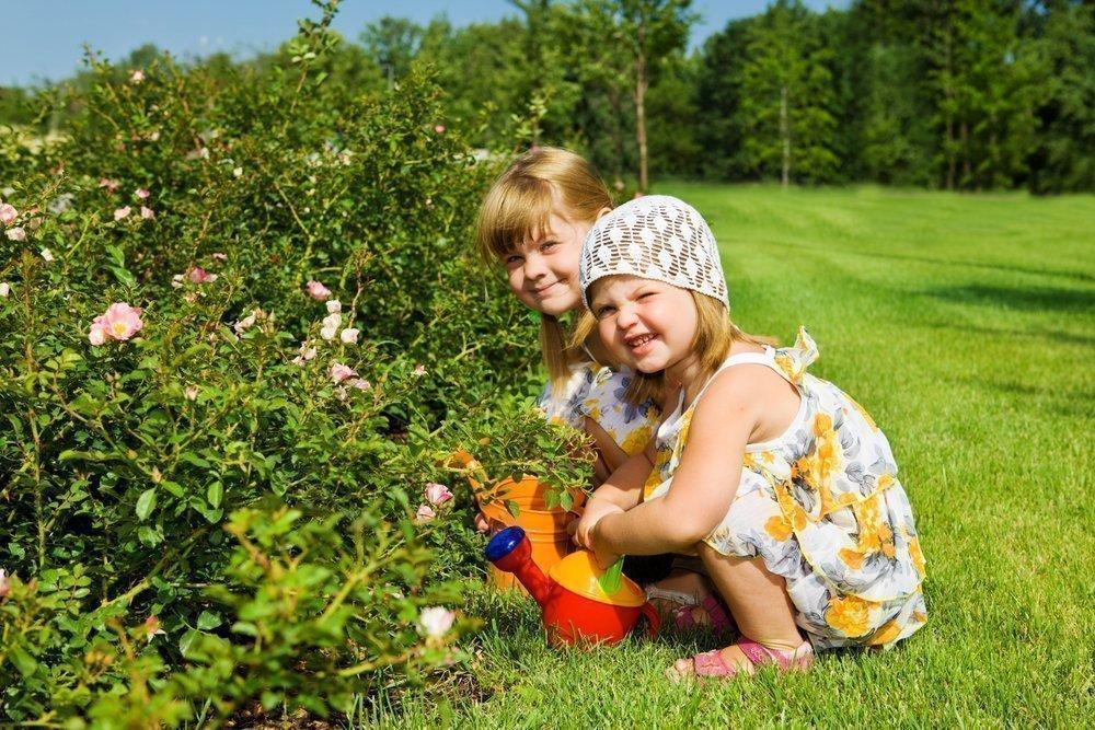Игры и развлечения для малыша во дворе