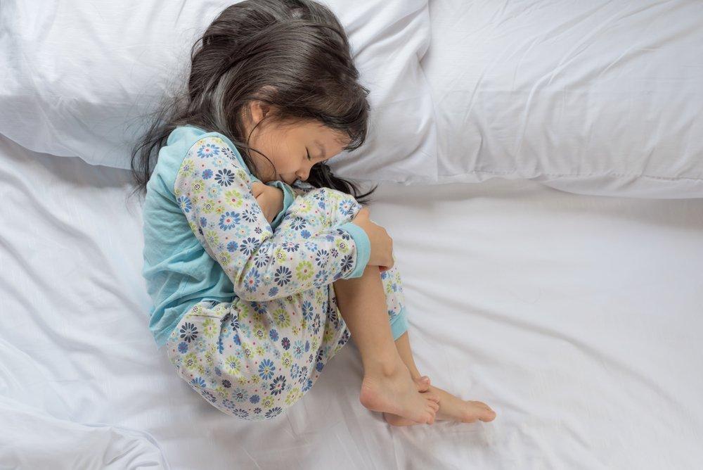 Продолжительная боль в животе как симптом у детей