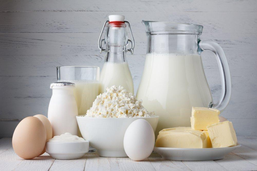 Молоко и яйца с деревни
