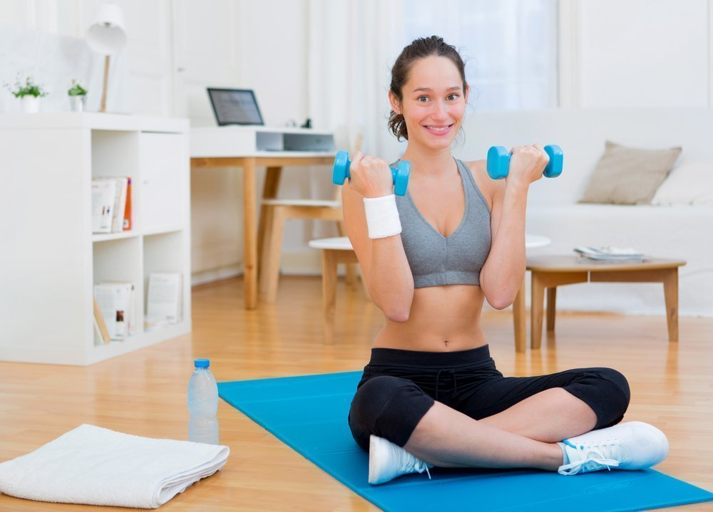 Женский фитнес: примерный план круговой тренировки