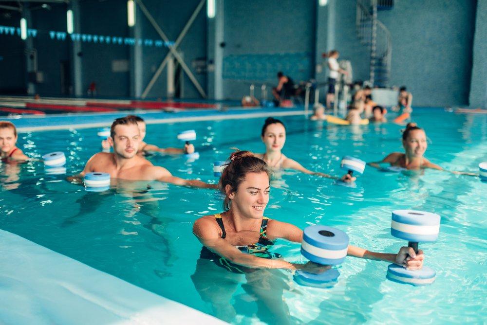 Противопоказания к выполнению упражнений в воде
