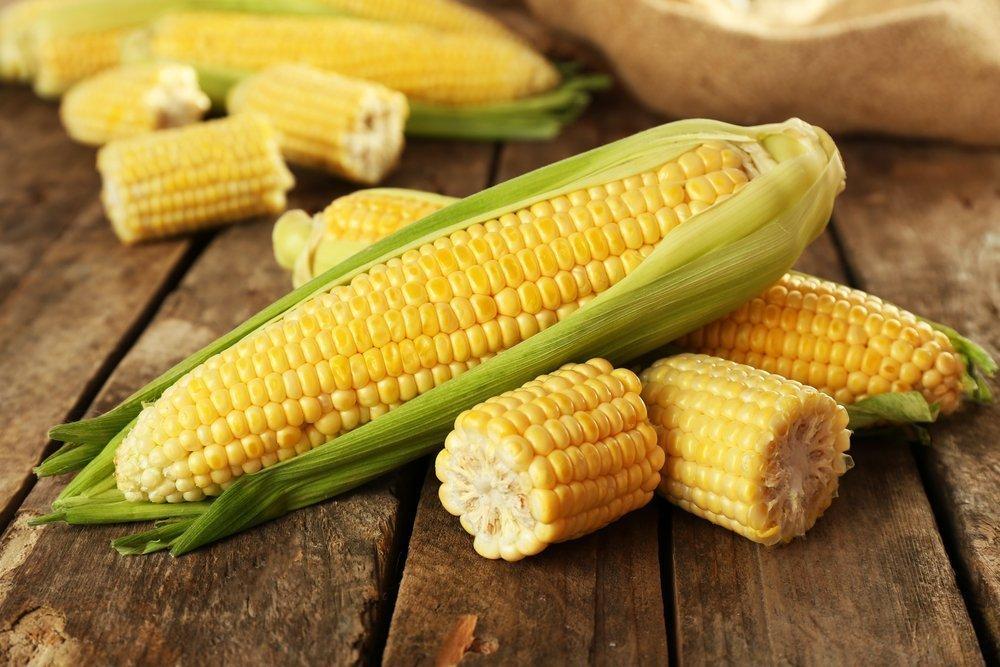 Полезные углеводы кукурузы