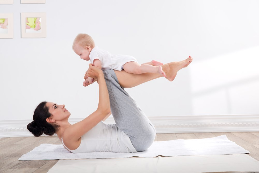 Фитнес после родов: с чего начать?