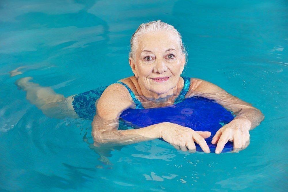 Базовые фитнес-упражнения в гидротерапии