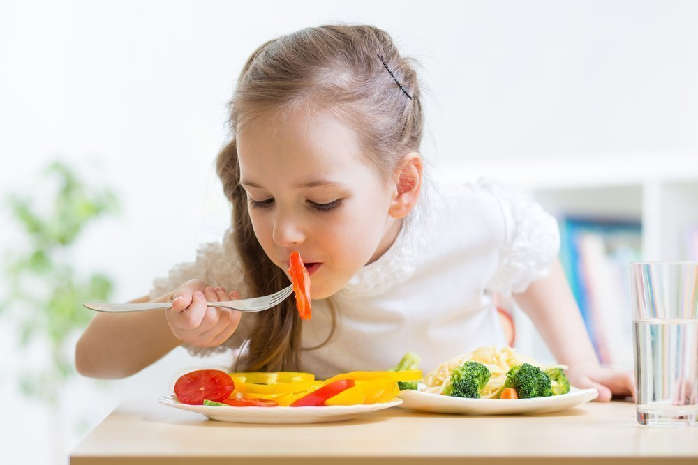 Питание активного ребенка
