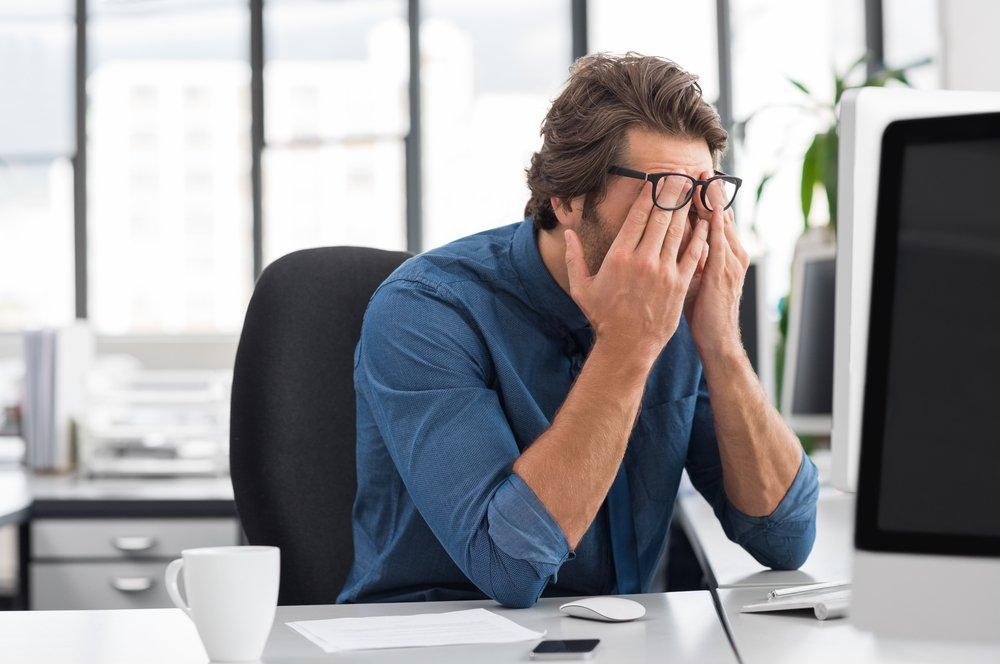 Компьютерный зрительный синдром: боль, жжение, сухость, нечеткое зрение