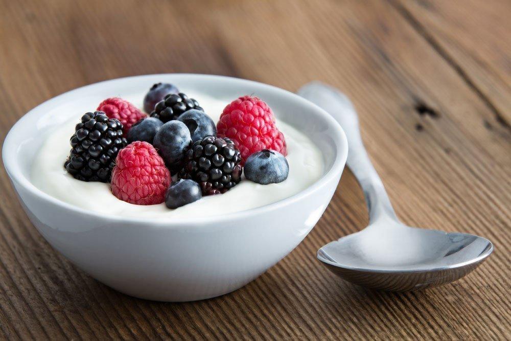 6. Йогурт для борьбы с лишним весом