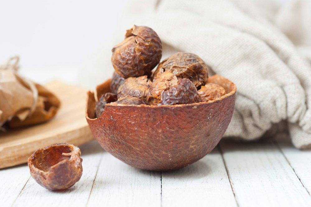 Мыльные орехи для красоты локонов
