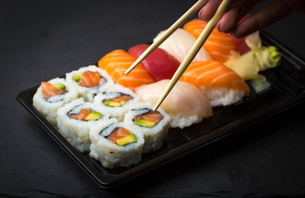 Суши могут нарушить безглютеновую диету