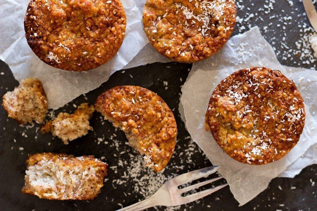 Морковно-кокосовый кекс на десерт