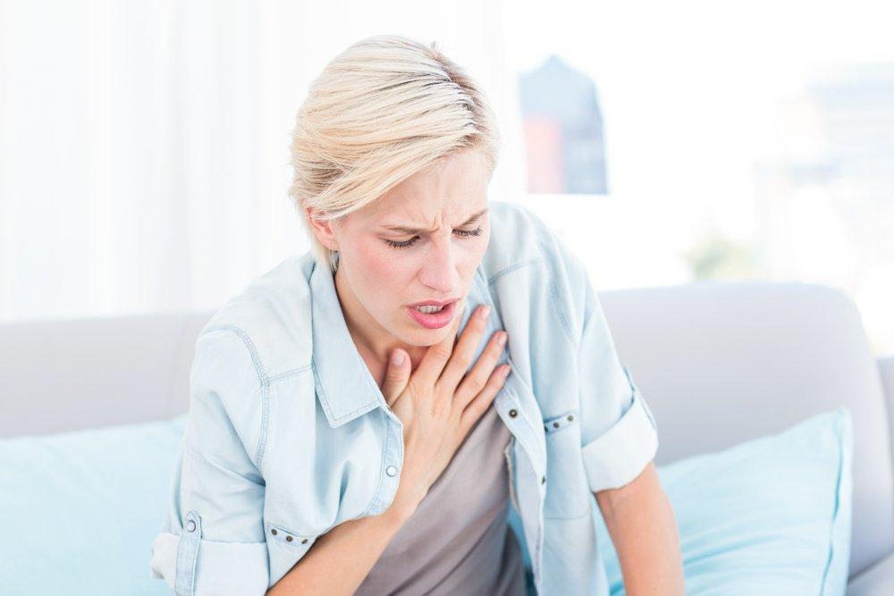 Отек легких: симптомы