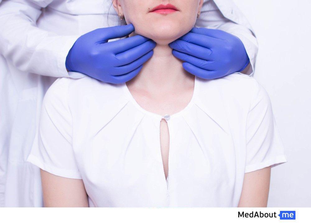 Как правильно определить расположение лимфоузлов на шее