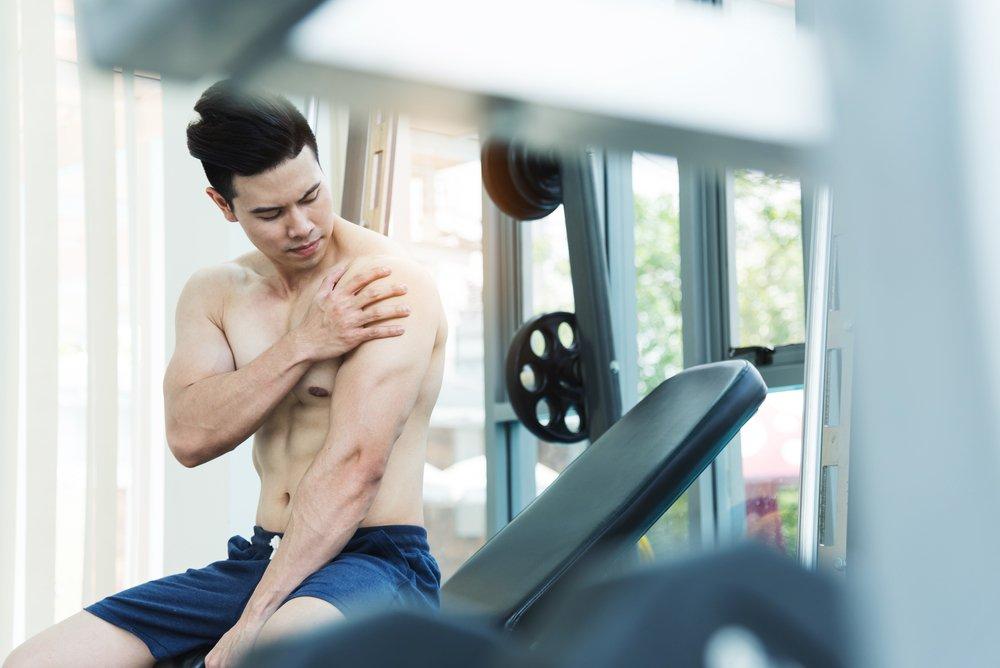 Крепатура после занятий фитнесом