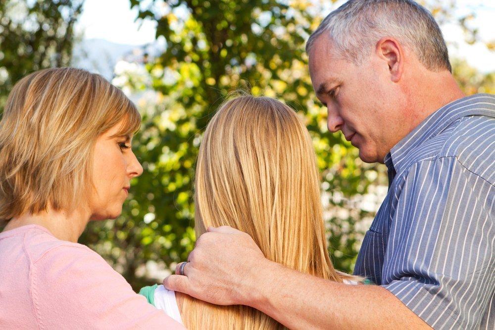 Общение с малышом после ссоры