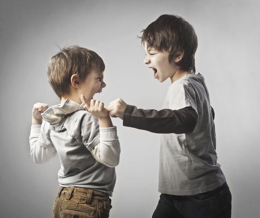 Ребенок не должен драться