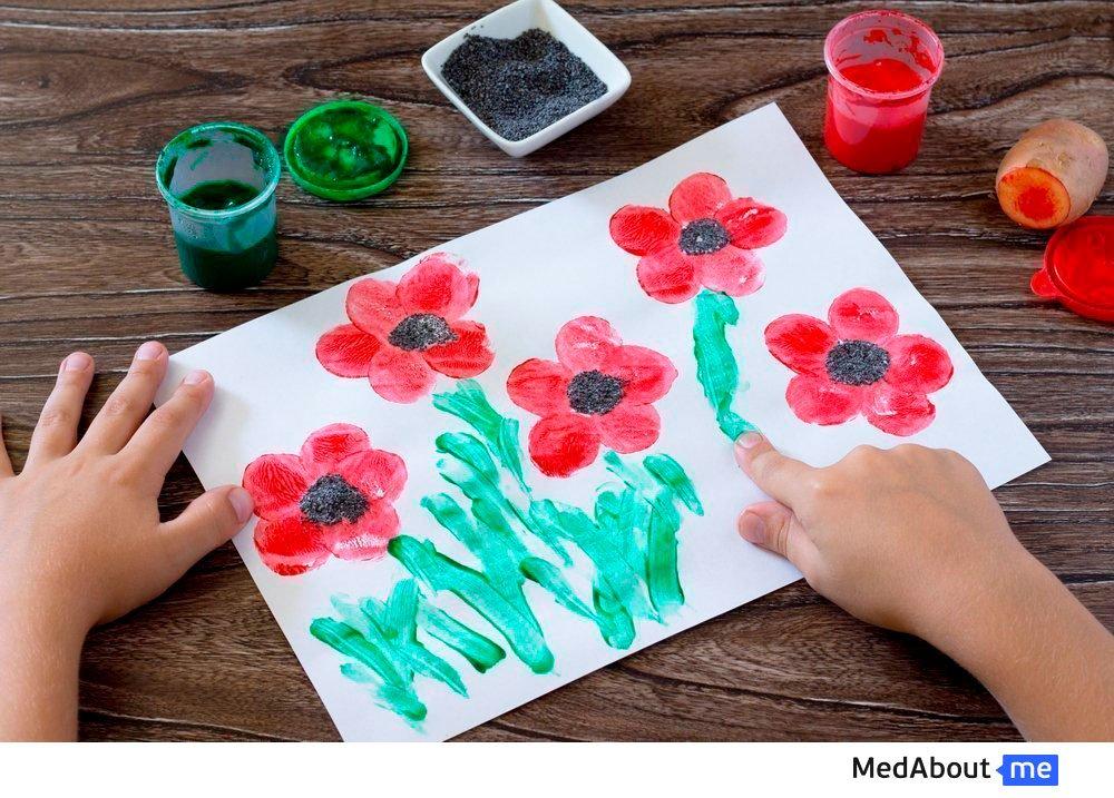 Развитие малышей и творчество